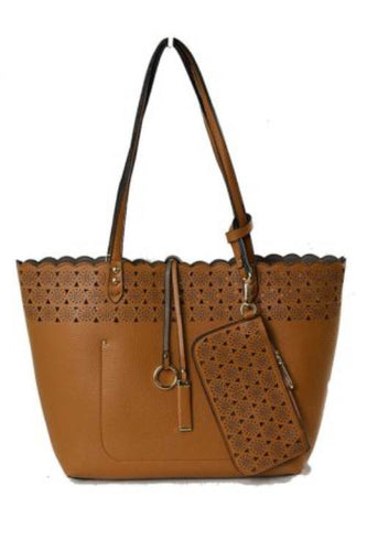 Carlotta Tote Reversible Brown/Gry