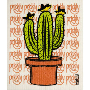 Prickly Cactus Swedish Towel