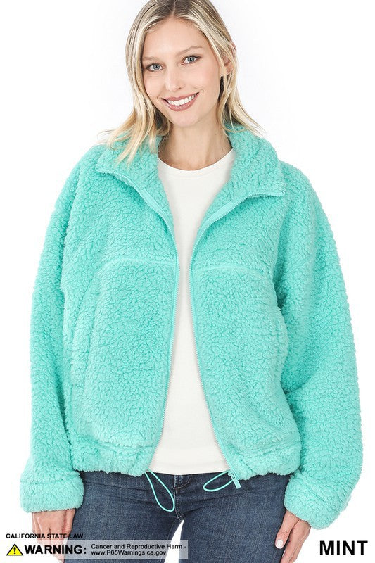 Short Sherpa Mint