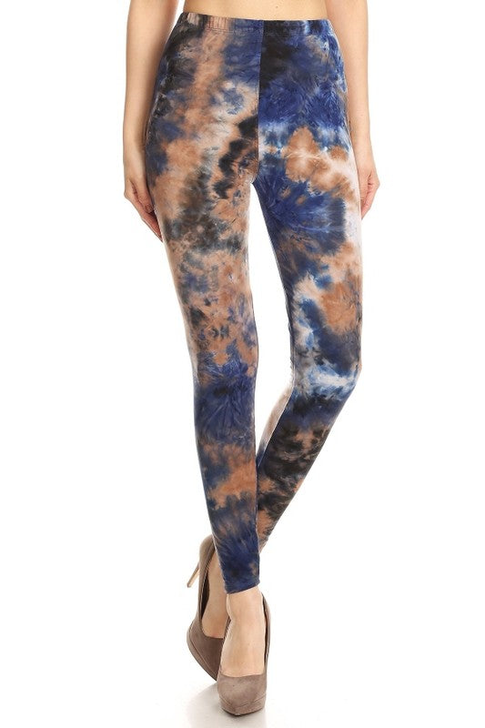 Melted Chocolate Leggings One Size