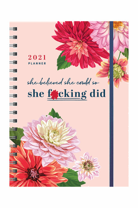 She F*cking Did Planner
