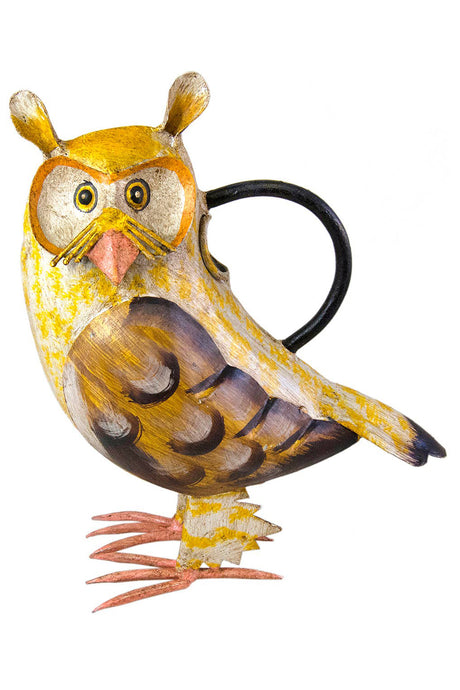 Owl Iron Watering Can