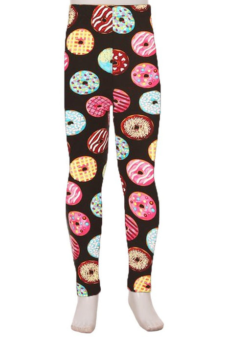 Kids Leggings Donuts