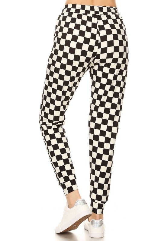 Checkered Flag Jogger