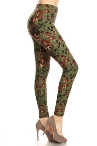 Twining Vines Leggings OS