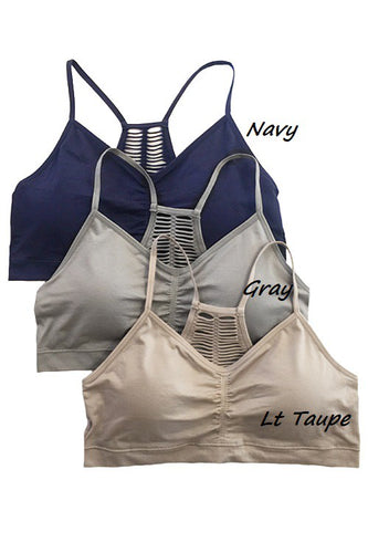 Cutting Edge Bralette Navy