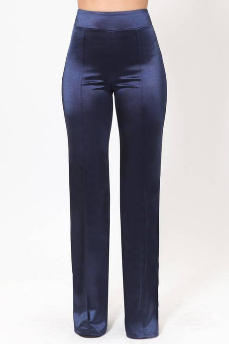 J LO Pants Satin Blue