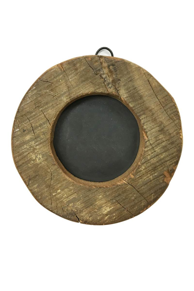 Natural Round Frame