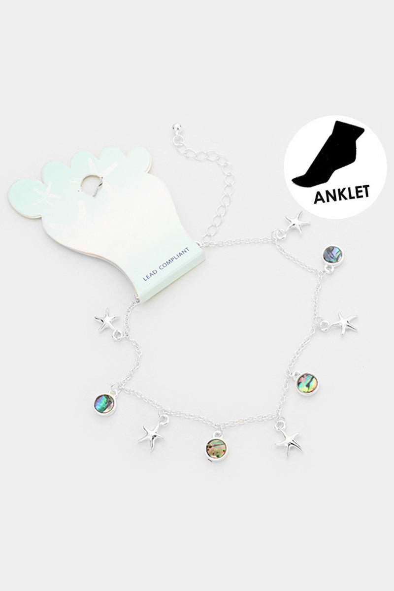 Dangle Your Abalone Anklet