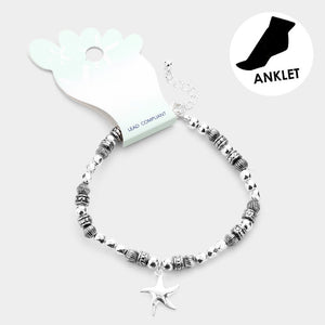 Starfish Ball Anklet