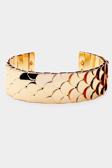 Mermaid Cuff Gold