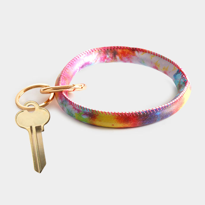 Rainbow Bracelet/Key Chain