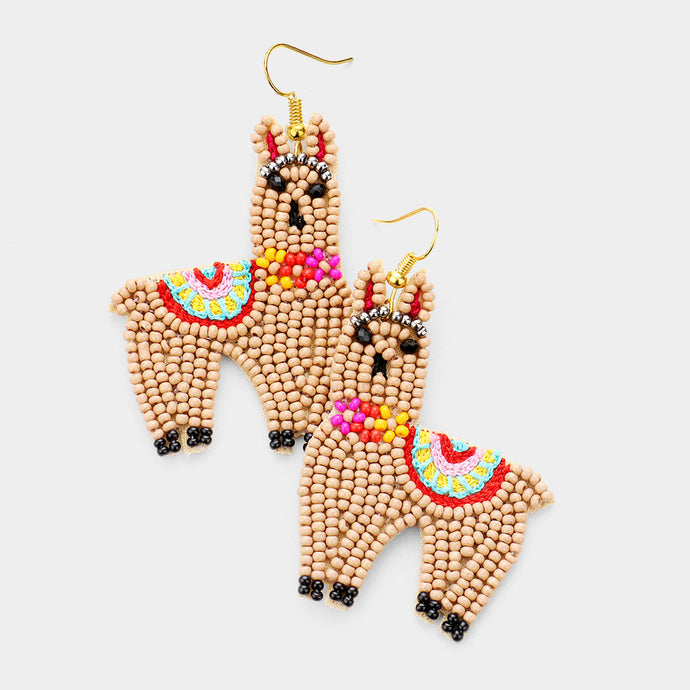 Llama Llama Earrings