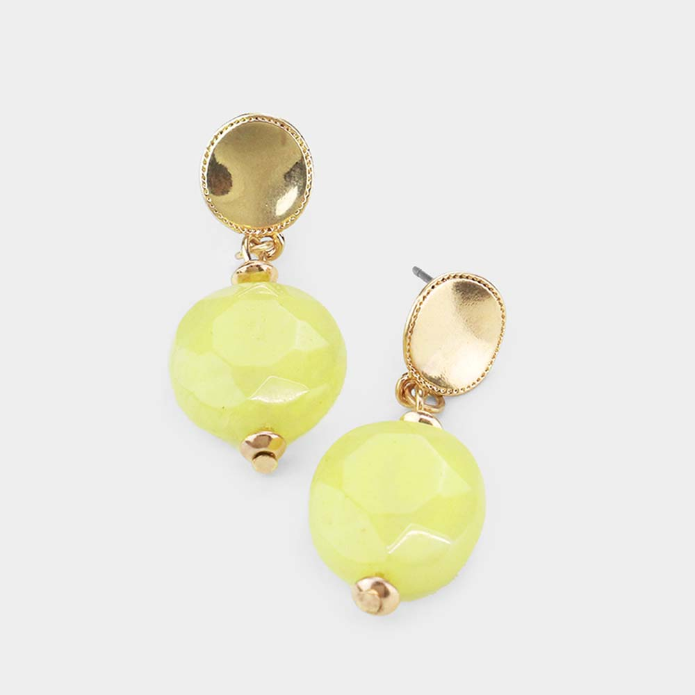 Dangling Dots Yellow