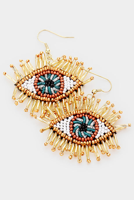 Blondie Flashy Lashes Earrings