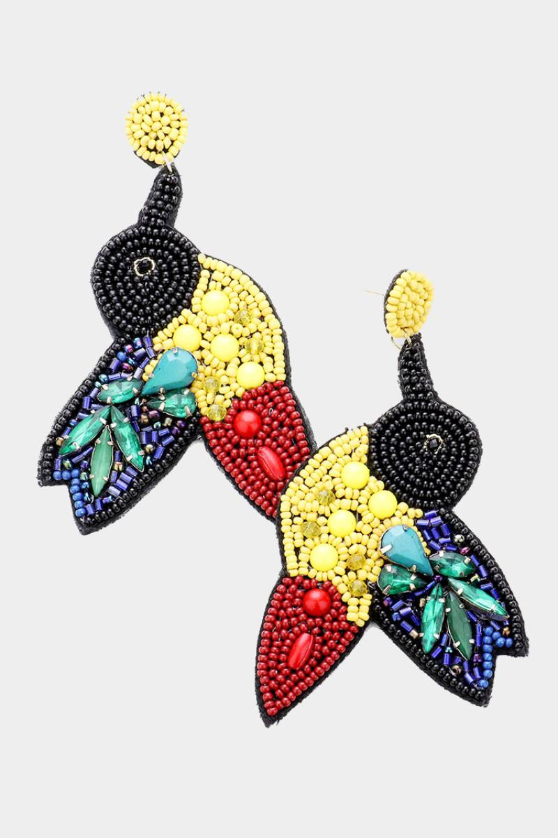 Birds Or Paradise Earrings