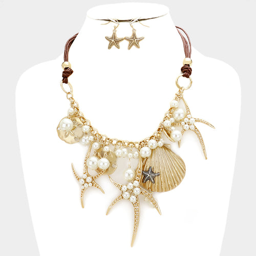 She Sells Sea Shells Necklace GD