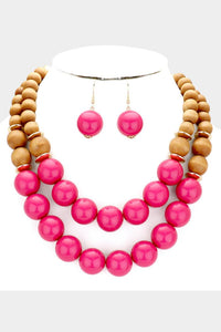 Wata Melon Necklace Pink