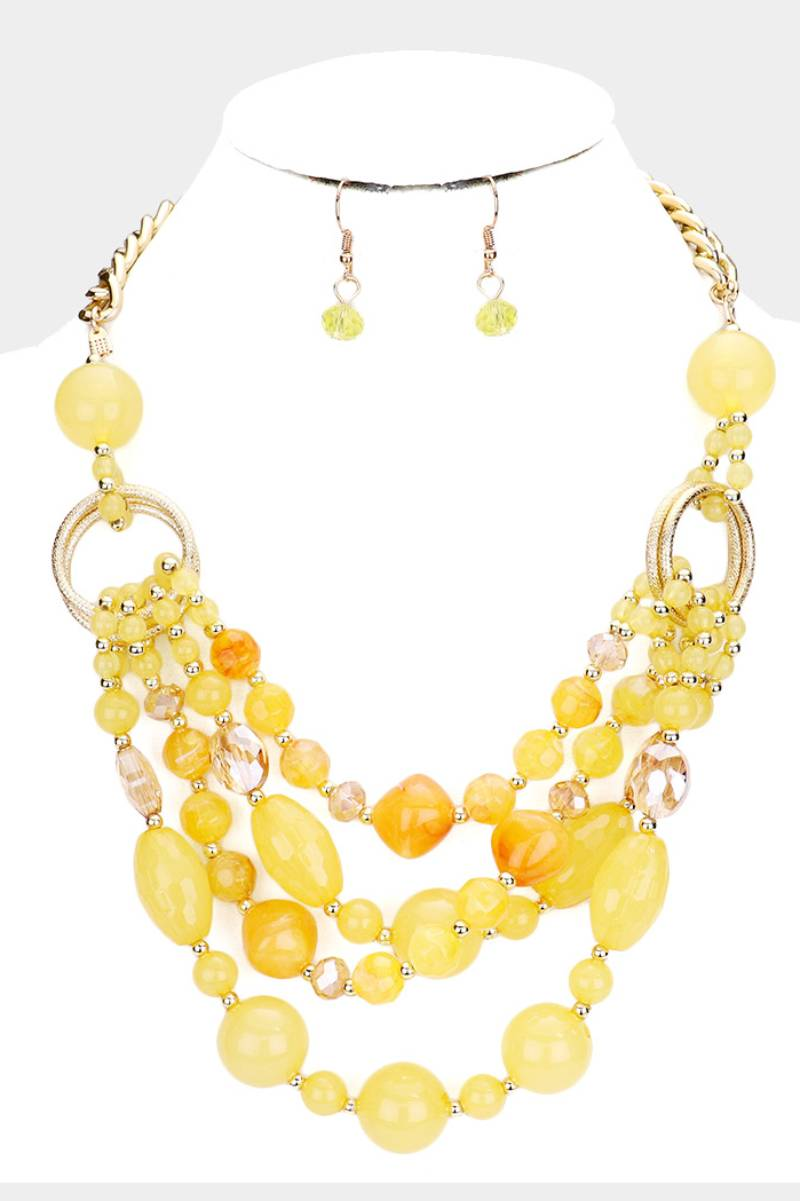 Lemon Drops Necklace