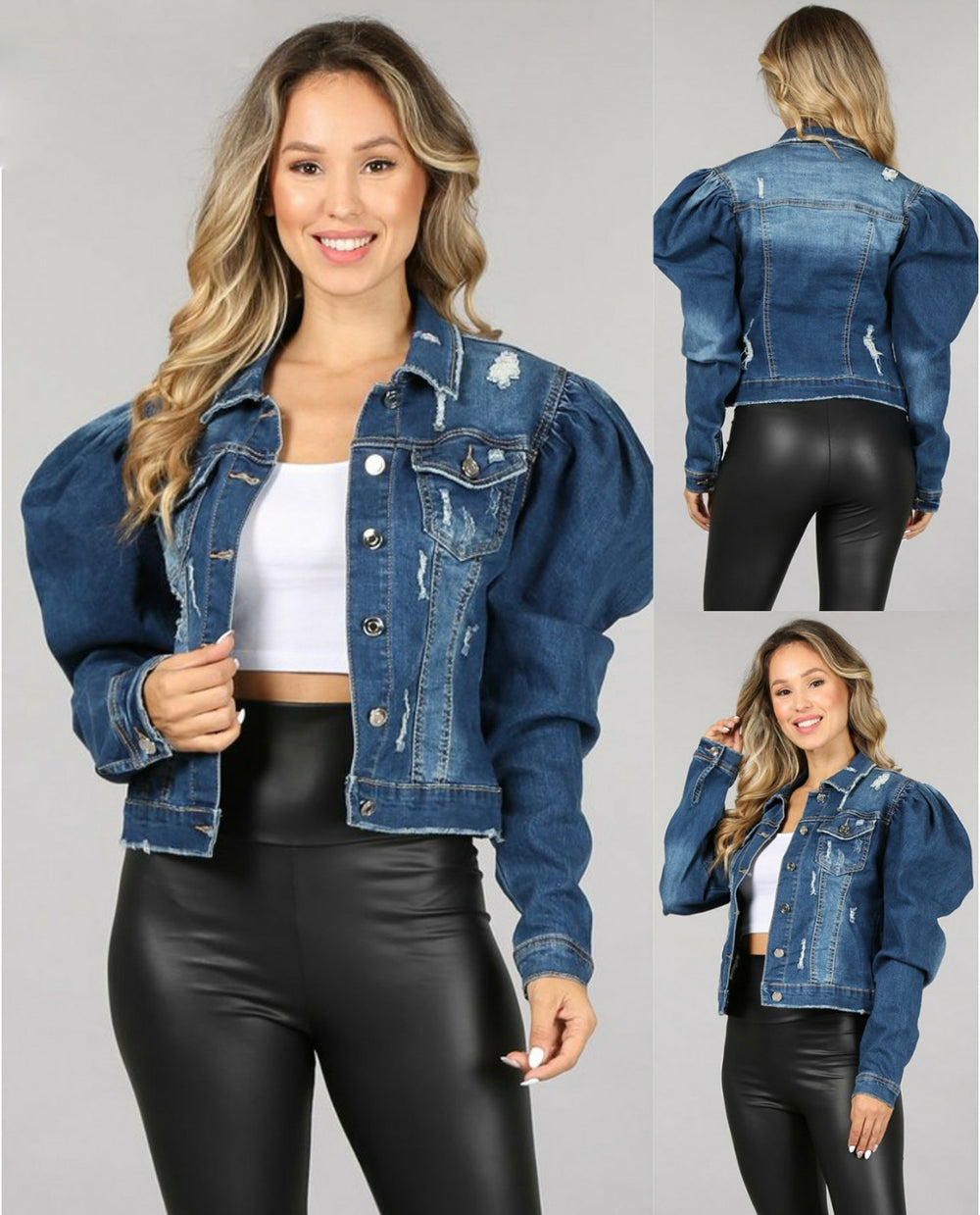 Queens Gambit Denim Jacket