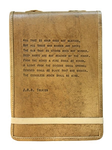 J.R.R. Tolkien Leather Journal