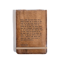 Large Jim Valvano Leather Journal