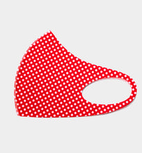 Polka Dot Mask Red