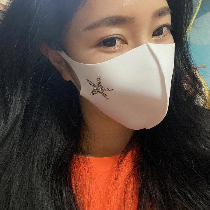 Starfish Mask White