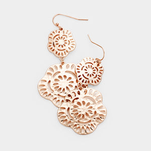 Rose Gold Dangles