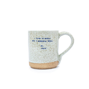 What A Wonderful World Mug