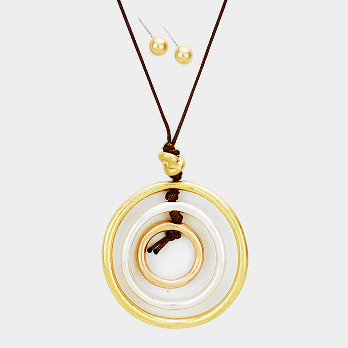 Circles Upon Circles Necklace