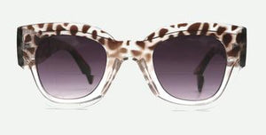 Cheetah Sun glass Readers