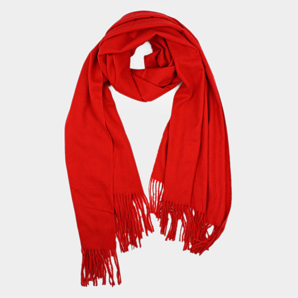 Delishisly Soft Scarf Red