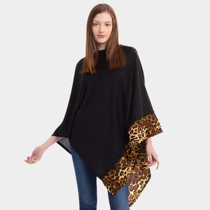Time Place Occasion Poncho Black