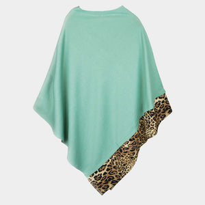 Time Place Occasion Poncho Mint
