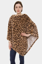 Gallant Cheetah Poncho Khaki