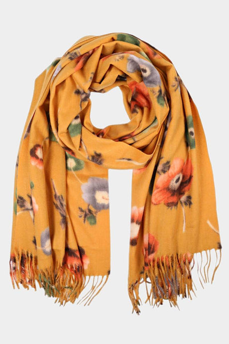 Welcome Fall Scarf Yellow