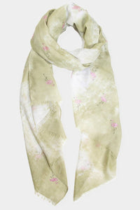 Flashy Flamingo Scarf