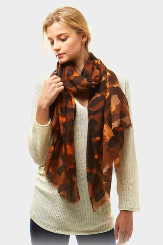 Wild One Scarf Brown