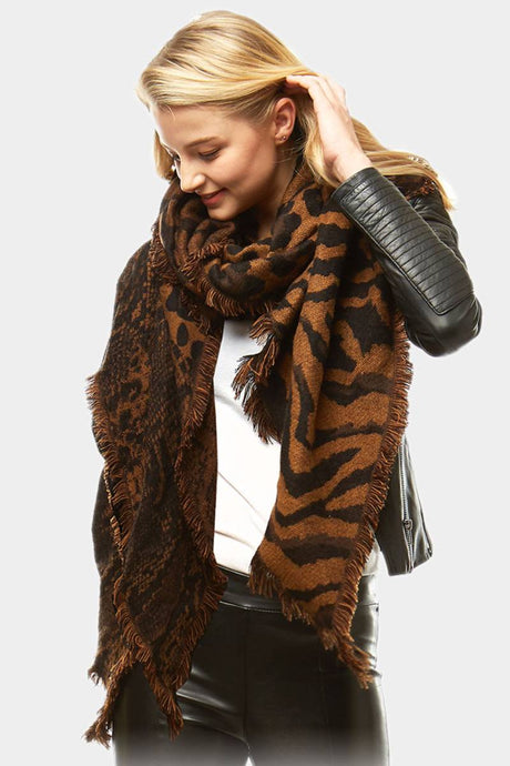 Wild Thing Scarf Brown