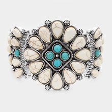 Howlite Star Stretchy Bracelet