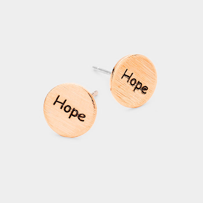 Hope Dots Rose Gold