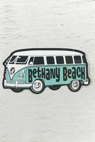 Bethany Beach Bus Sticker