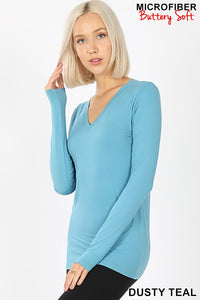 Buttery Soft Tee Dusty Teal