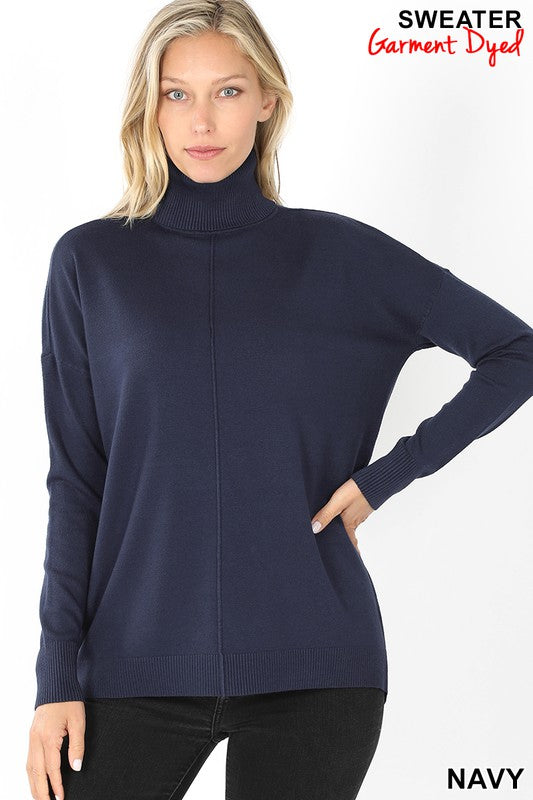 Carmela Turtleneck Navy