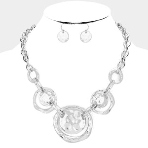 Modern Cleopatra Necklace Silver
