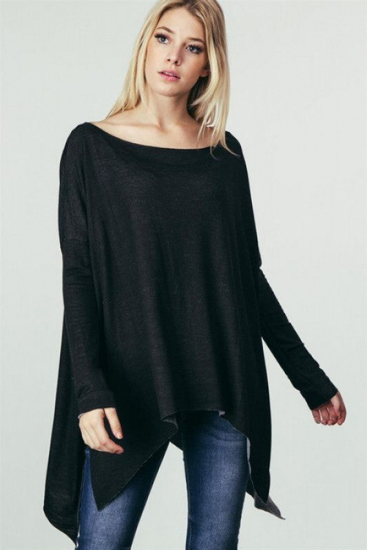 Oh So Comfy Top Black