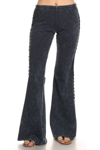 Mermaid flares W/LACE Charcoal Navy