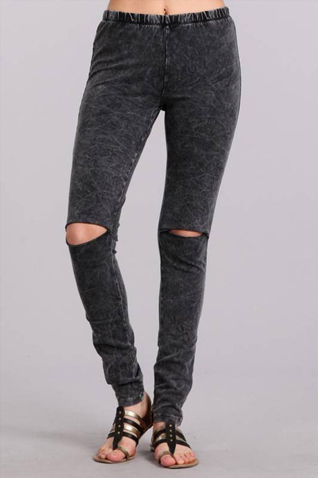 Edgy Mermaid Leggins Grey