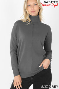 Carmela Turtleneck Grey